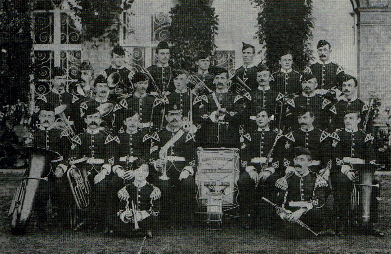 TOWN AND VOLUNTEER BAND 1898